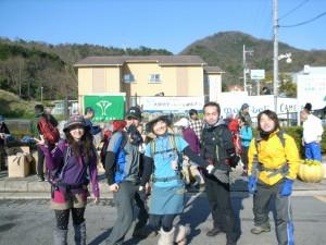 2012 4 金剛山チャレンジ登山