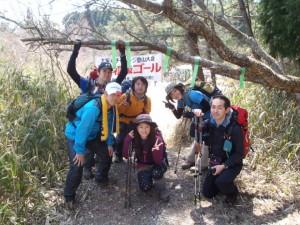 2012 4 金剛山チャレンジ登山 (1)